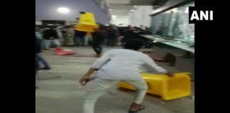 Vandalism by workers at Wistron Corporation's manufacturing unit in Kolar, Karnataka on 1 December 2020| Twitter/ANI
