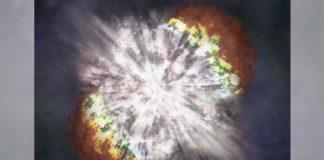 An illustration of a supernova | NASA