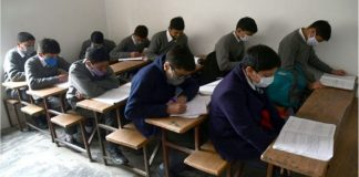 Students in a classroom during pandemic | Representational Image | ANI