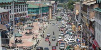 Vehicles in Lal Chowk, Srinagar (Representational image)   S Irfan   PTI