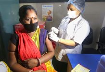 Representative Image | A medic administers a dose of Covid vaccine to a beneficiary at a government hospital in Bhopal | PTI