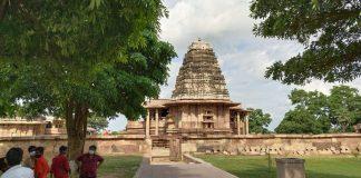 The Kakatiya Rudreswara Temple, also known as the Ramappa temple, at Mulugu district in Telangana | Photo: Rishika Sadam