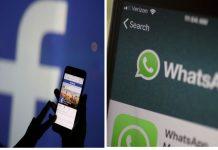 Facebook and WhatsApp logos  Representation image   Bloomberg