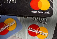 Mastercard Inc. credit cards are arranged for a photograph in Arlington, Virginia, US   Photographer: Andrew Harrer   Bloomberg file photo
