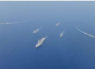 Indian Navy warships | Representational image | Twitter | @indiannavy