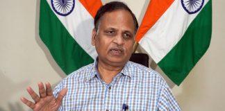 File photo of Delhi Health Minister Satyendar Jain | ANI photo