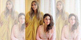 Namrata Zakaria, founder of Baradari fundraiser, with brand ambassador Kareena Kapoor Khan | By special arrangement