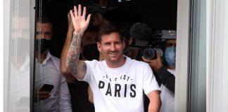 Lionel Messi arrives in Paris on 10 August 2021 | Twitter /@FabrizioRomano