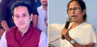 TIPRA chief Pradyot Kishore Debbarma and West Bengal CM Mamata Banerjee | Twitter/PTI