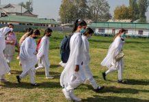 Representational image of female students in J&K | PTI